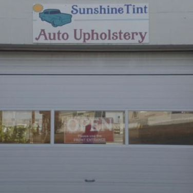 Sunshine Tint garage entrance
